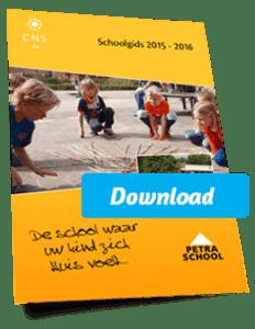Schoolgids Petraschool 2015