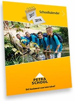 Petraschool kalender 2017-2018